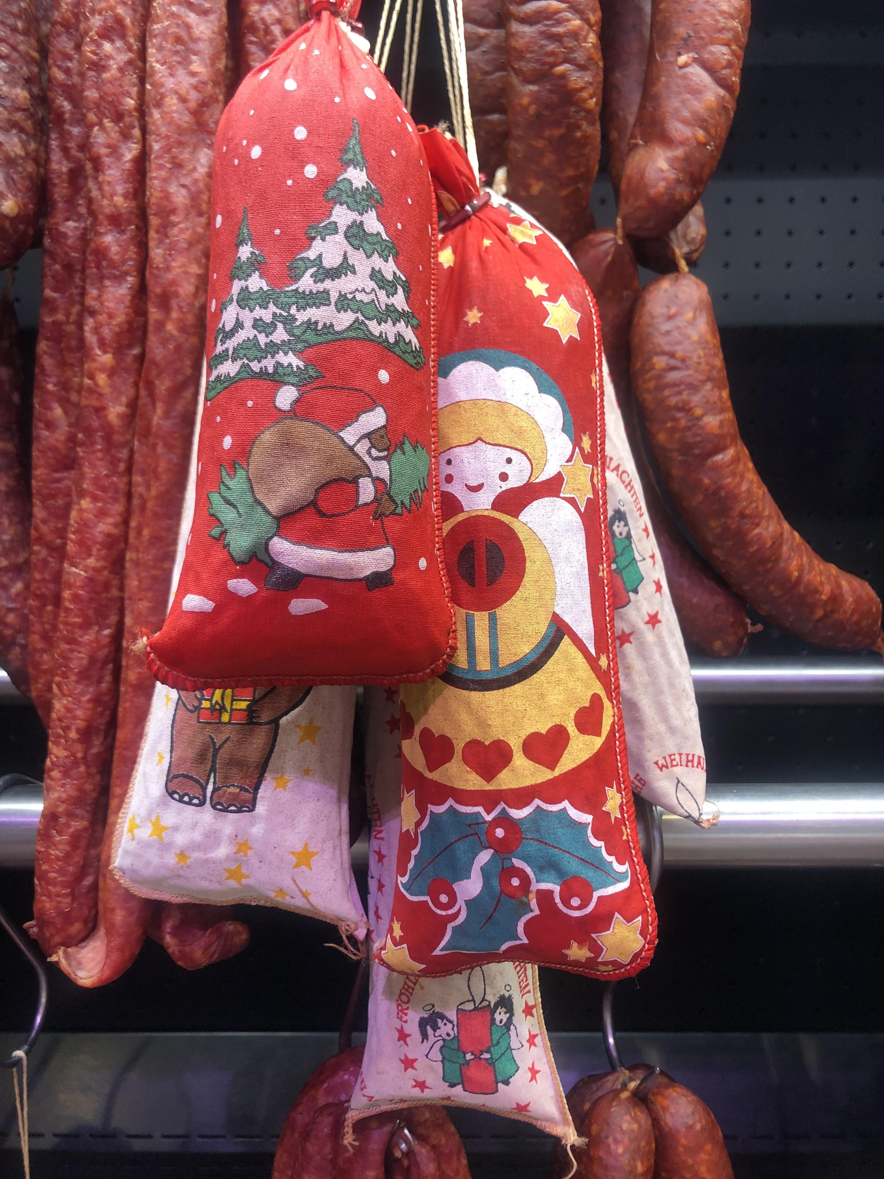 Weihnachtssalami groß (ca. 480g)